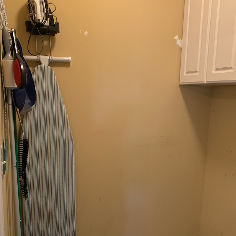 Laundry room renovation view 3